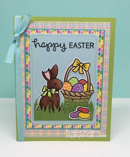 2016 Card 40 - Kaleb Lawn Fawn Eggstra Special Easter