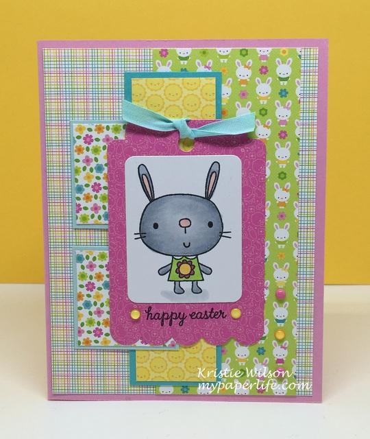 2016 Card 41 - Madelyn Reverse Confetti Hippity Hoppity