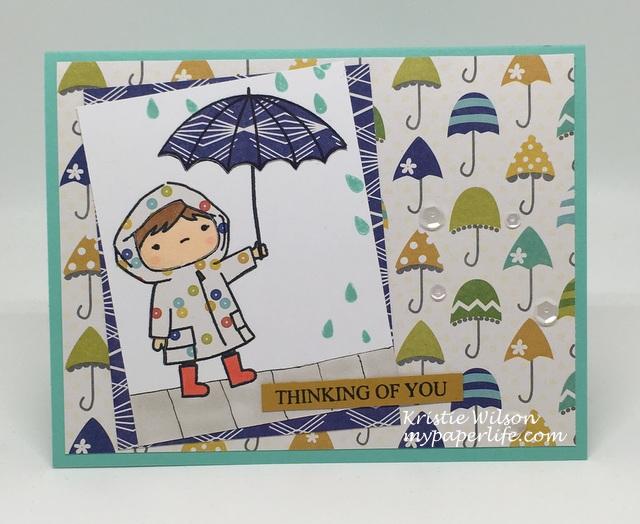 2016 Card 54 - Mama Elephant Chance of Rain
