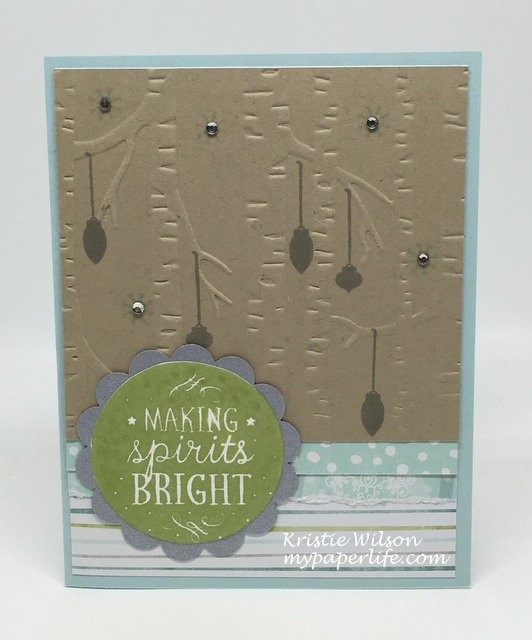 2016 Card 73 - Stampin Up Among the Branches