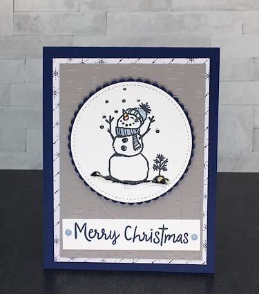 Stampin Up Snowman Season
