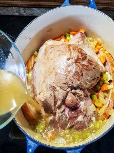 Slow Cooked Seven-Hour Leg of Lamb