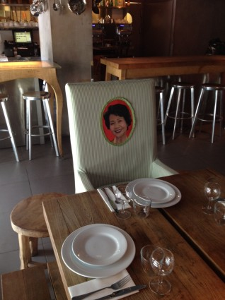 Mama Shelter ?chinese tables chairs