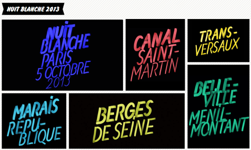 guide nuit blanche paris 2013