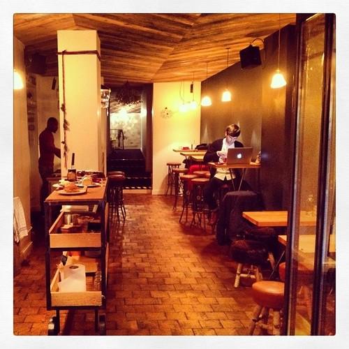 Lockwood Cafe decor