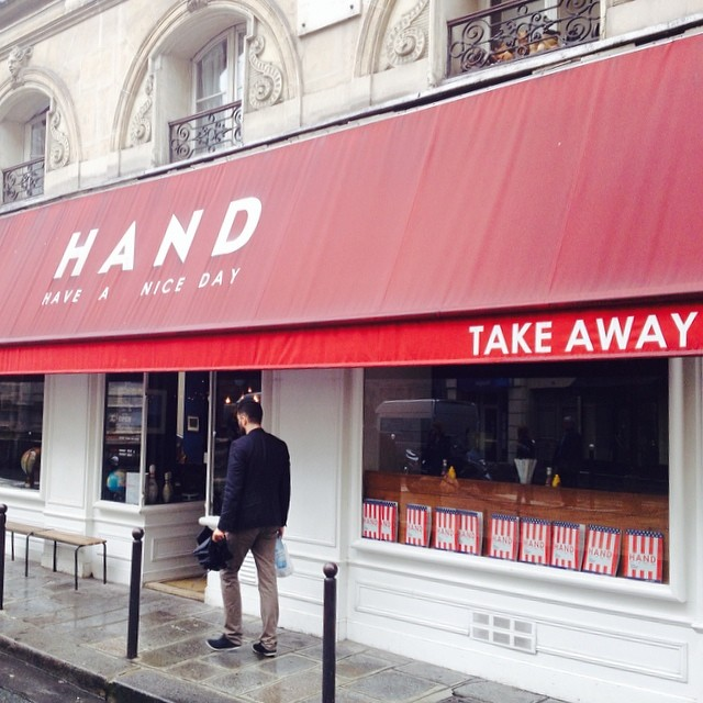 Hand Burger Decor Paris