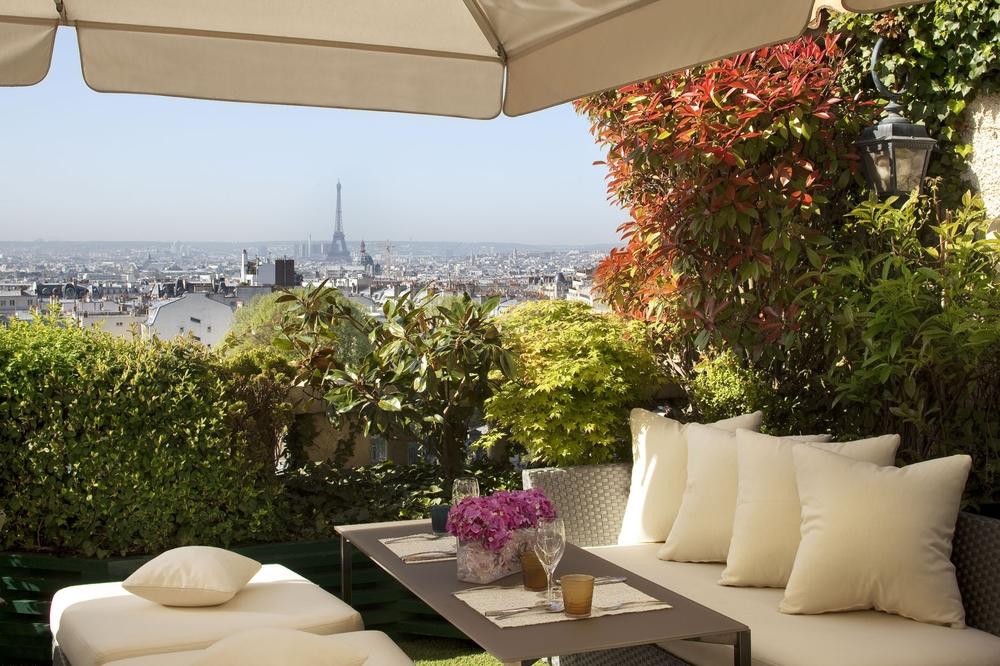 paris Terrass Hotel rooftop