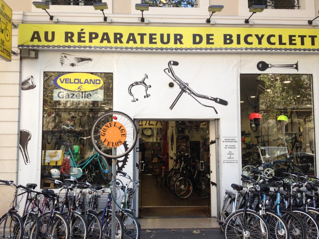 bike repair paris