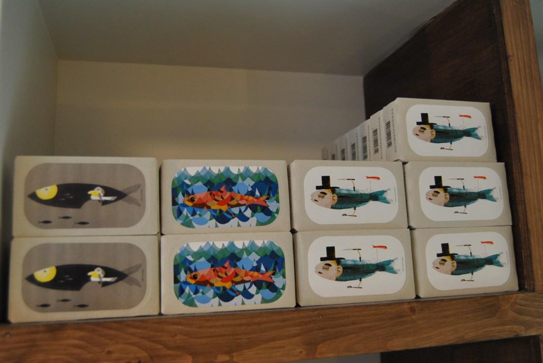 cute packaging sardines paris