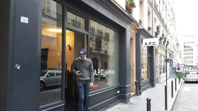 APC Stock store paris
