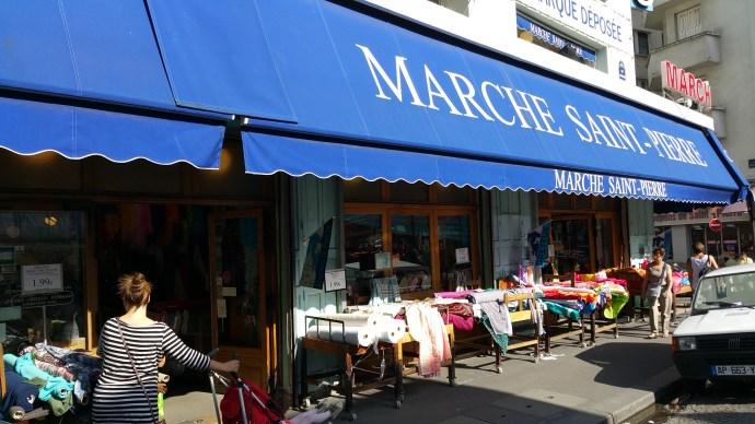 fabric shopping paris marche saint pierre