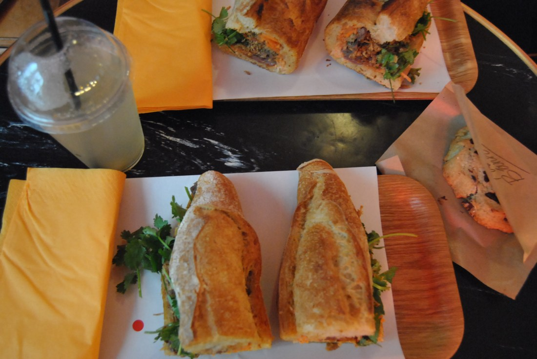 vietnamese sandwich lunch paris