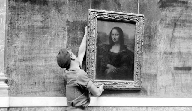 Mona lisa paris cheap visit