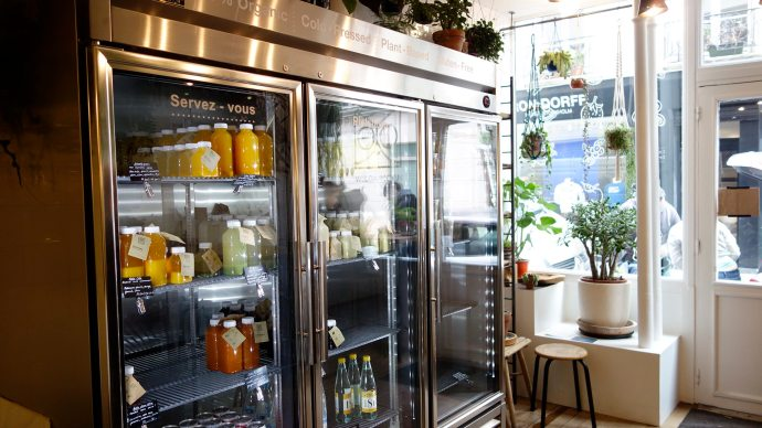 juice bar wild and moon paris vegan gluten free 3