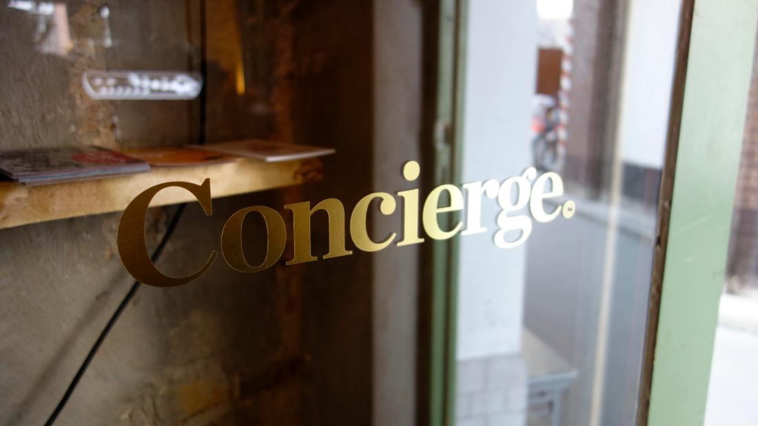 Concierge berlin coffee shop