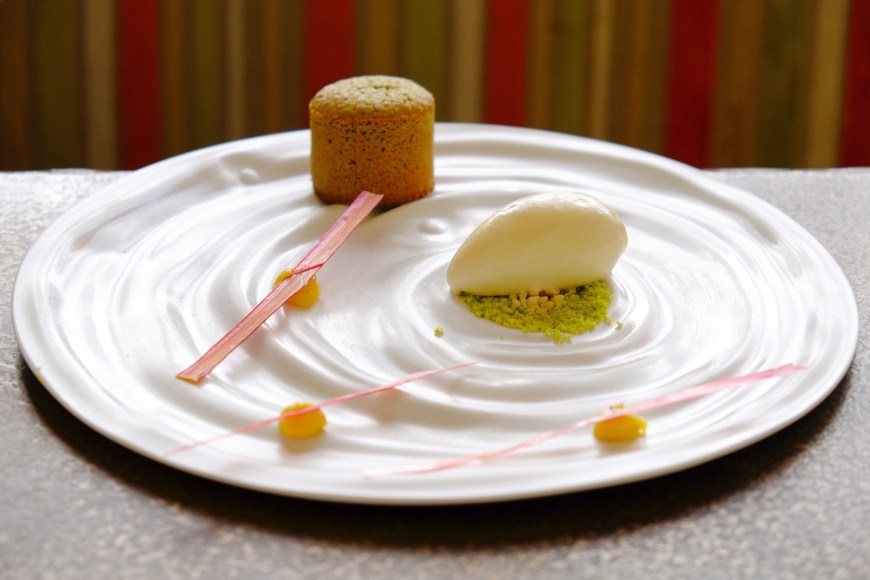 pistachio dessert paris Loiseau Rive Droite