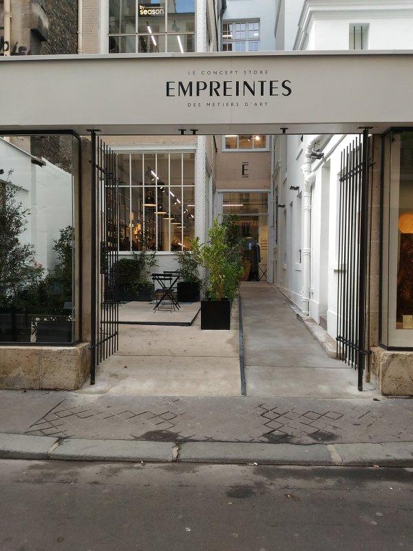 Empreintes paris marais art concept shop
