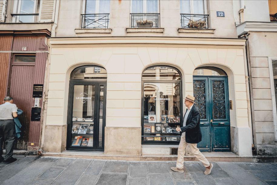 bookshop hotel marais