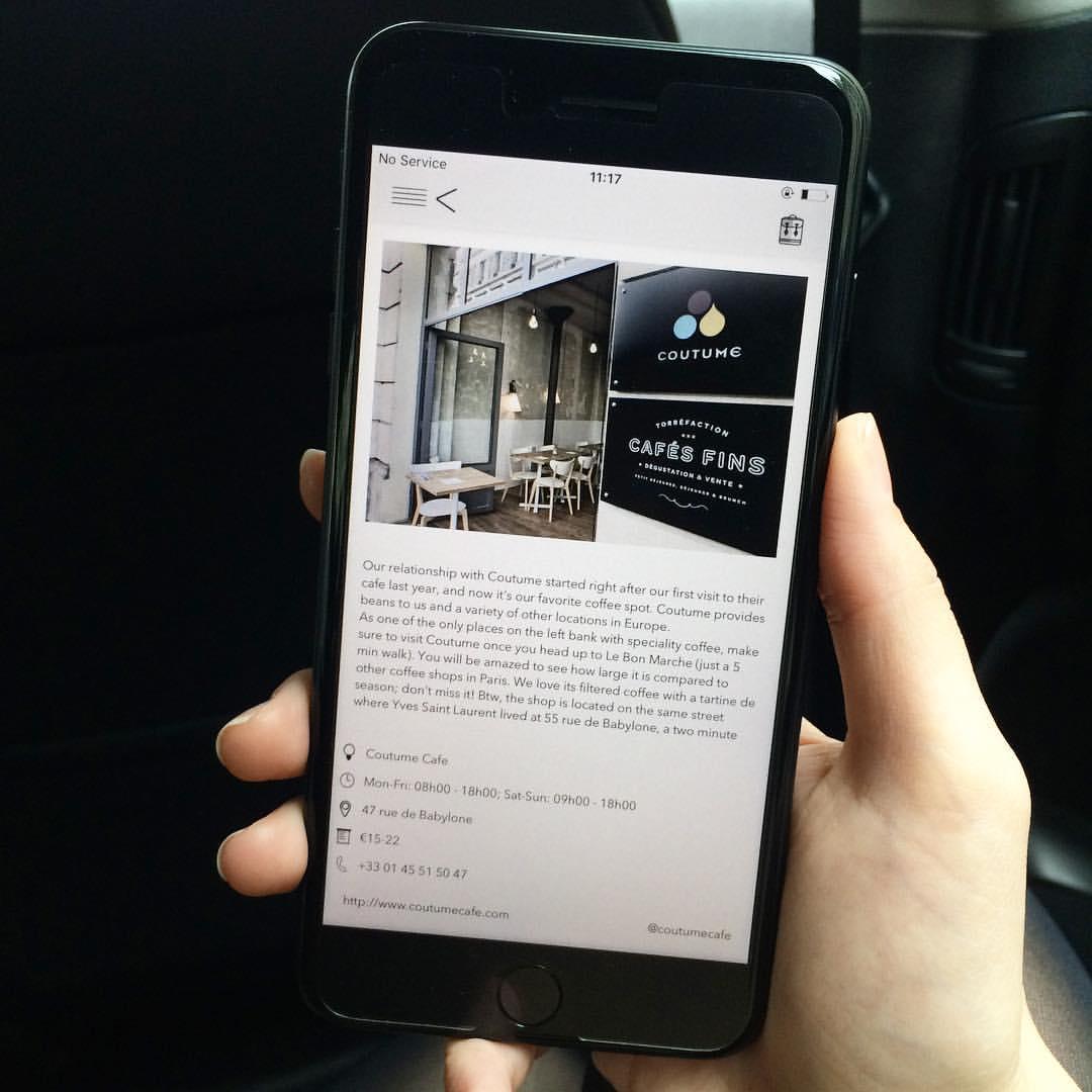 paris app city guide sprezzatura