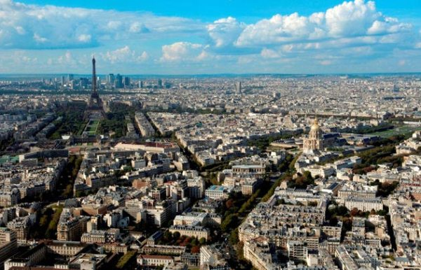 aerial view paris blog review things to do