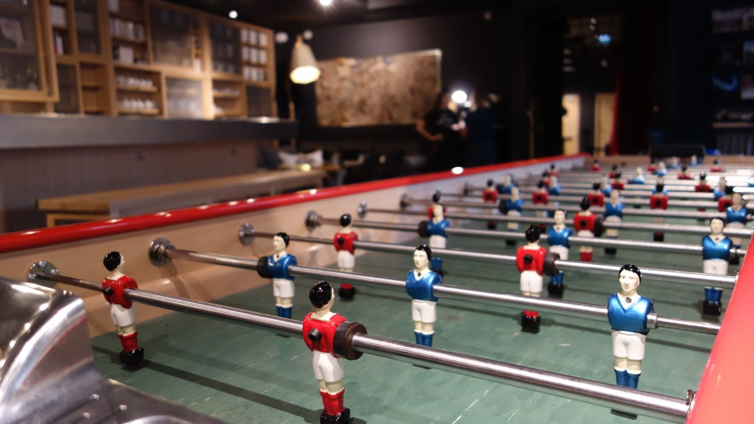fuseball mob hotel paris saint ouen