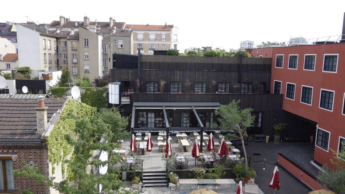 rooftop view saint ouen mob hotel cool paris