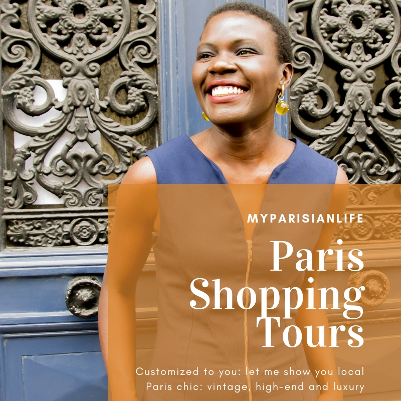 Shopping in Paris with Yanique