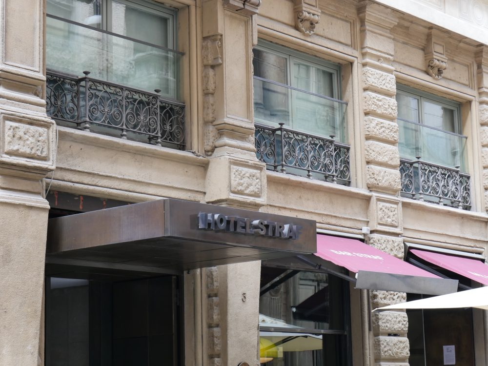 hotel straf milan extérieur