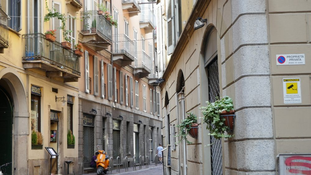 Milano street view 2