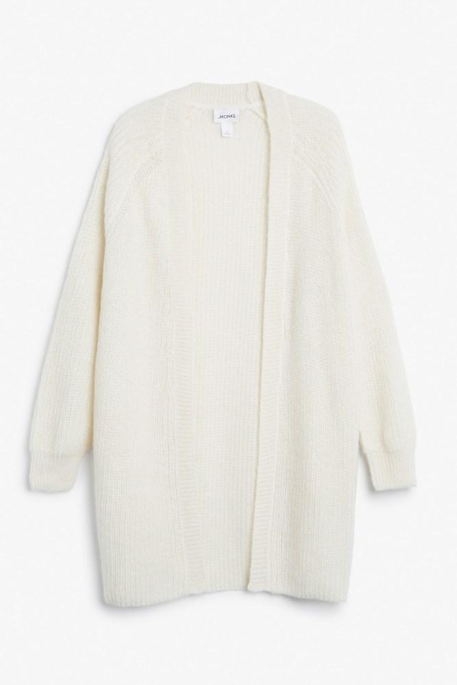 cardigan blanc monki