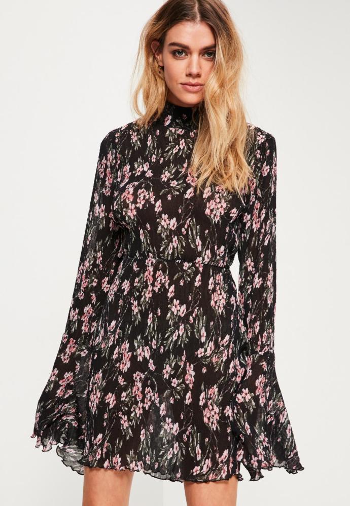 look-robe-fleurs-mi-saison-boheme-missguided
