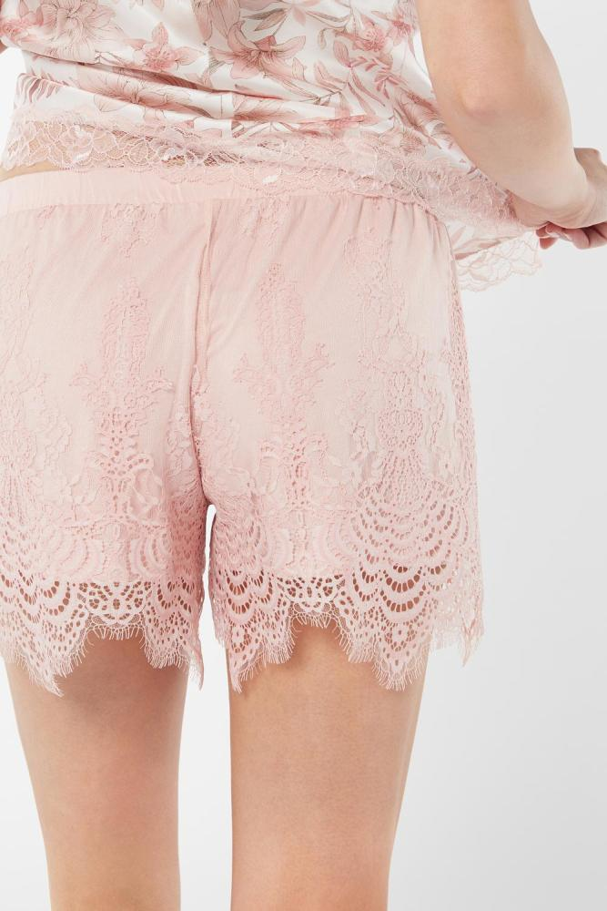 wishlist-pyjamas-confinement-short-dentelle-rose-intimissimi