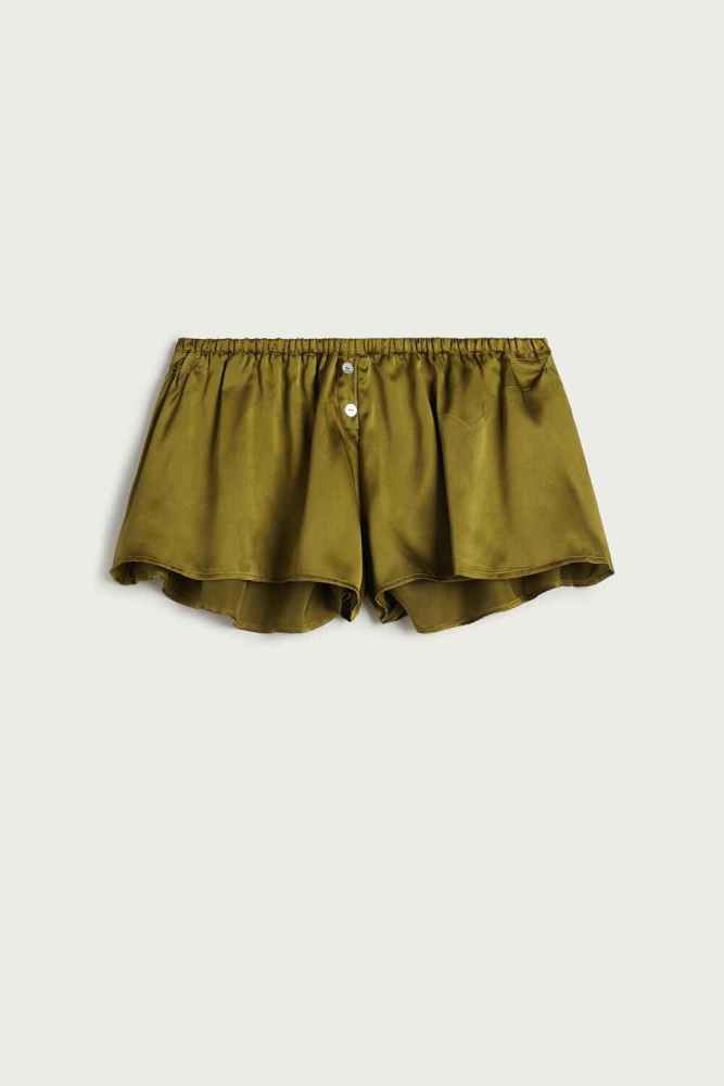 wishlist-pyjamas-confinement-short-volant-vert-satin-tulle-intimissimi