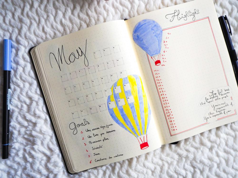 Bujo-mai-monthly-log