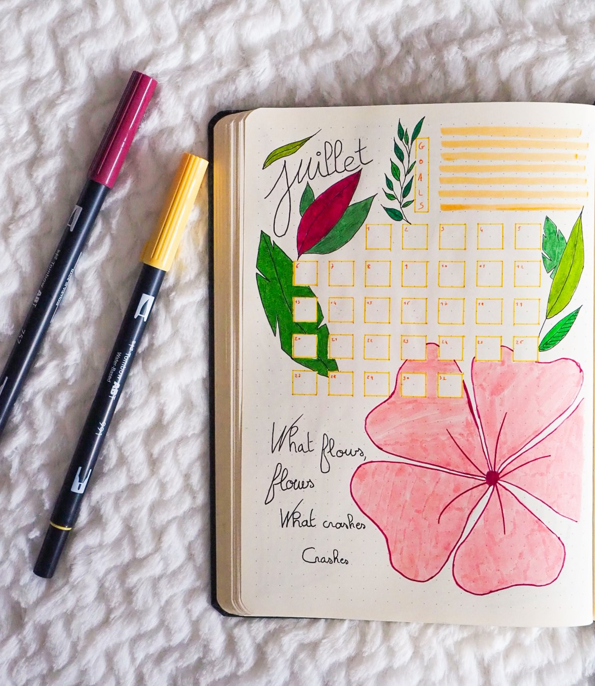 bullet-journal-monthly-log-juillet-what-flows-what-crashes