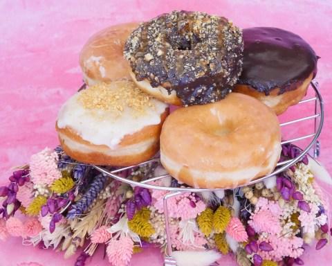 birthday-anniversaire-doughnuts-cake-28-ans