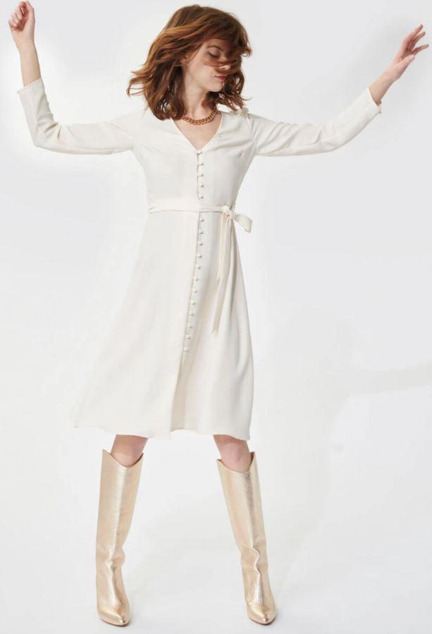 robe-boutonnée-blanche-tara-jarmon