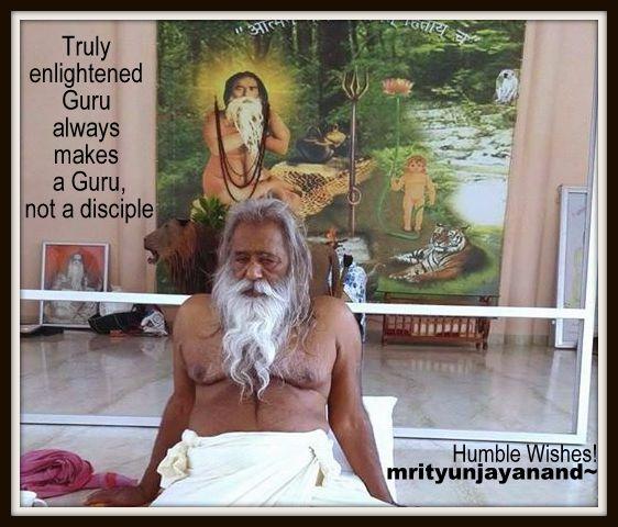 Truly enlightened Guru...!!!
