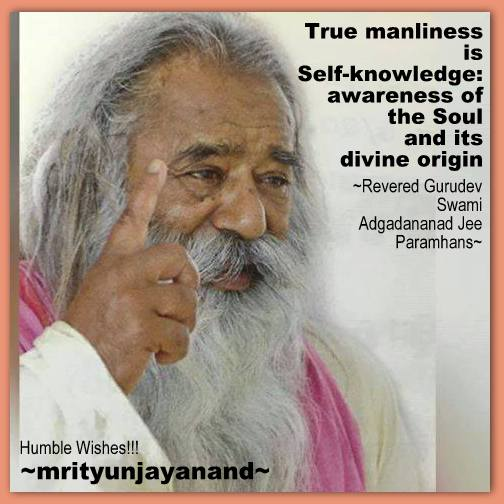 True manliness is Self-knowledge...!!!