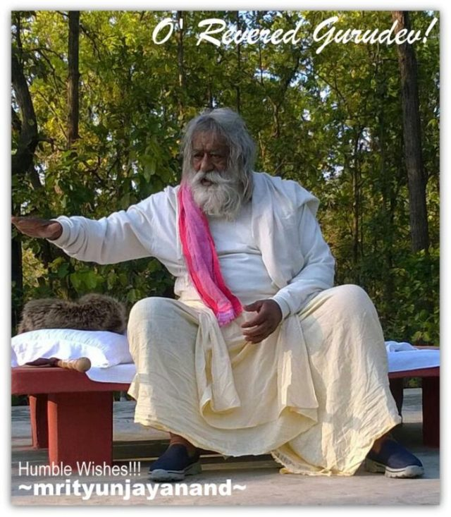 O' Revered Gurudev 1...!!!