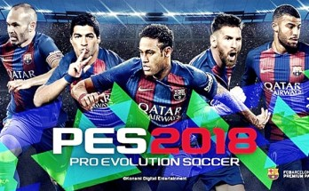 Pro Evolution Soccer 2018 Free Download Cover Image