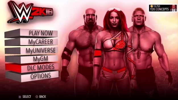 WWE 2k18 PC Game free download