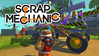 Scrap Mechanic PC Game Free Download full version