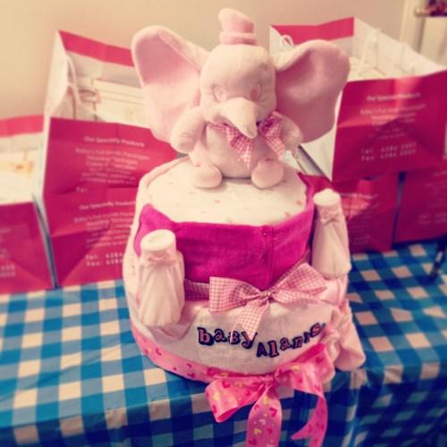 Handmade Diaper Cake!
