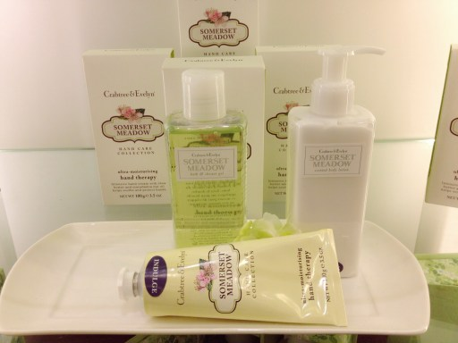 crabtree and evelyn somerset meadow hand therapy cream