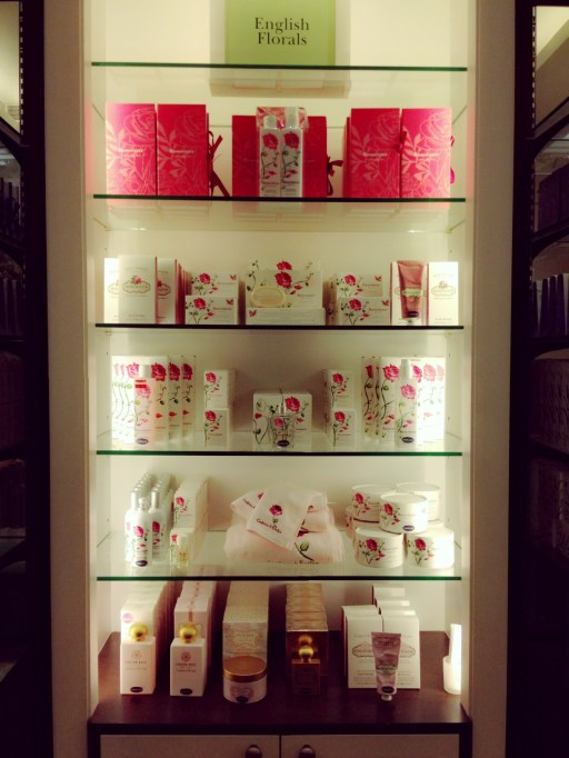 Crabtree and Evelyn rosewater range