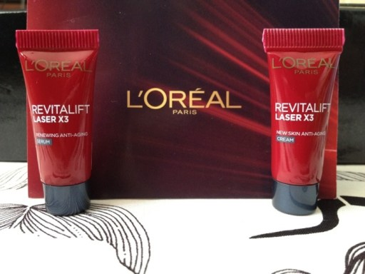 Loreal revitalift renewing anti-aging serum and cream