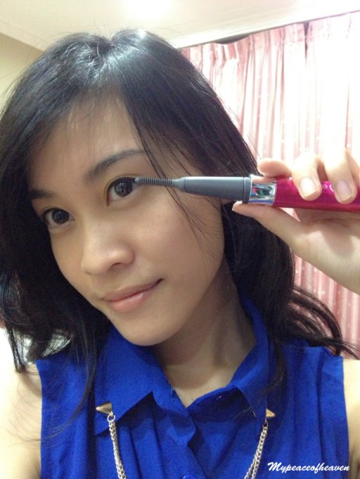 panasonic heated eyelash curler 7 easy make up steps
