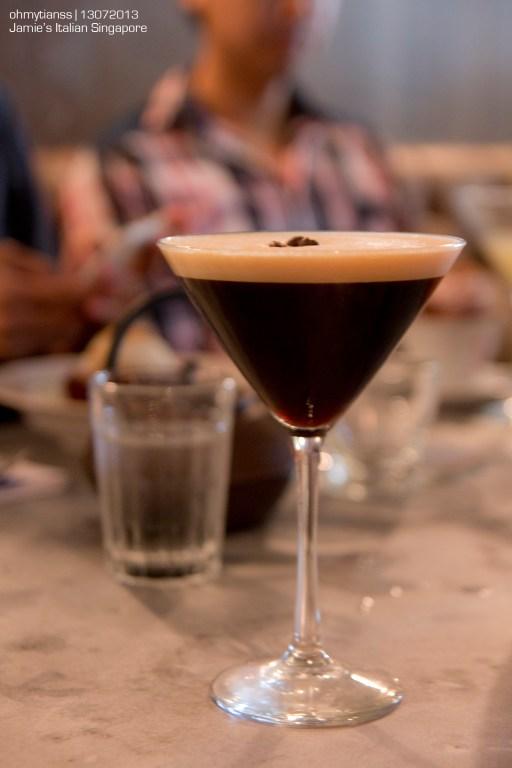[Food] Jamie's Italian Singapore Espresso Martini