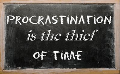 Procrastination – the Thief of Time
